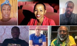 非洲大陆的许多艺术家和运动员已决定联合起来,帮助共同应对2019冠状病毒病大流行。