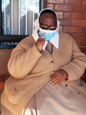 Sister Juliet Lithemba recovered after being diagnosed with the COVID-19 virus.