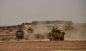 حفظة السلام من المملكة المتحدة يخدمون في مالي منذ كانون الأول/ديسمبر 2020.