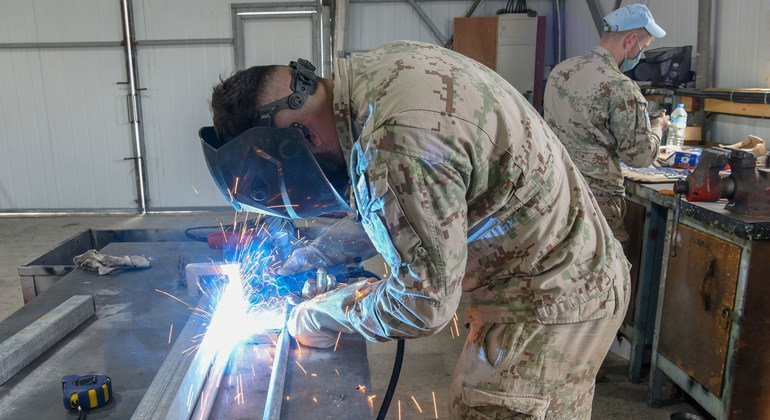 Slovak military engineers play an essential role in UNFICYP with their main role is to construct, maintain and repair all facilities..