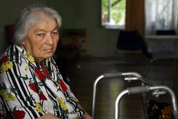 UNDP provides care services and improves living conditions for elderly Georgians in need.