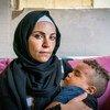 Rania a perdu sa maison dans l'explosion au port de Beyrouth l'an dernier et vit avec d'autres membres de sa famille.