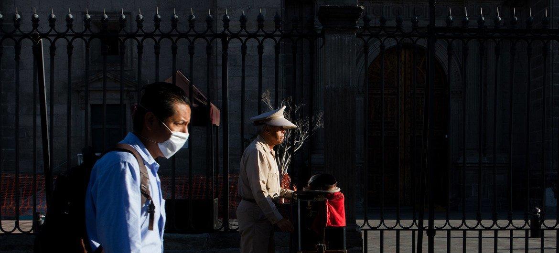Escenas de cotidianidad en la Ciudad de México durante la pandemia de coronavirus.
