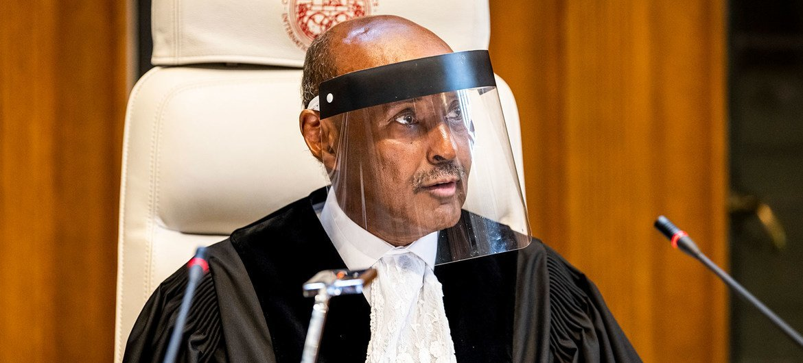President of the International Court of Justice (ICJ), H.E. Judge Abdulqawi Ahmed Yusuf.
