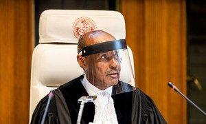 国际法院院长艾哈迈德·优素福法官。
