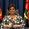 A ministra de Estado para Área Social, Carolina Cerqueira, em vídeo para o Fórum de Alto Nível sobre o Desenvolvimento Sustentável