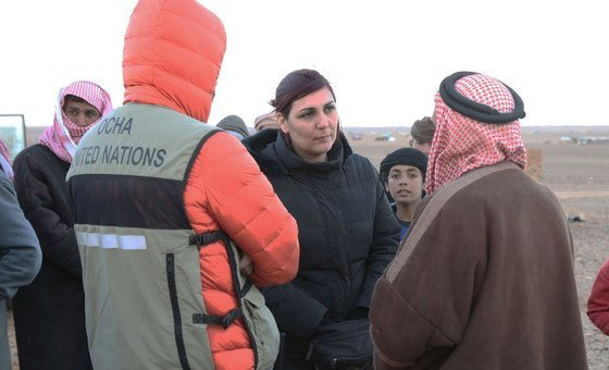 Sonia Almassad, a Field Programme Officer from Syria, now with the Office for the Coordination of Humanitarian Affairs in Yemen.