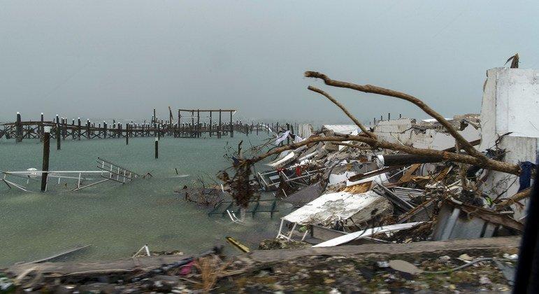 Horrifié par les ravages de l'ouragan Dorian aux Bahamas, le chef de l'ONU appelle à stopper le changement climatique