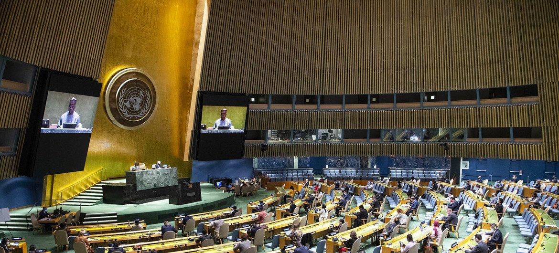 Asamblea General de la ONU. (Foto de archivo)