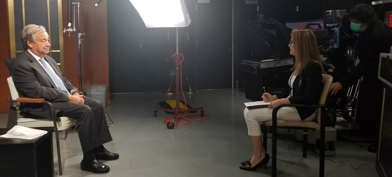 Генеральный секретарь Антониу Гутерриш в интервью Мэй Якуб рассказал о своем видении нынешней ситуации в мире и путей выхода из кризиса.