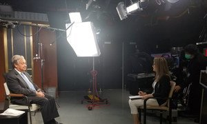 UN News' May Yaacoub interviews UN Secretary-General António Guterres.