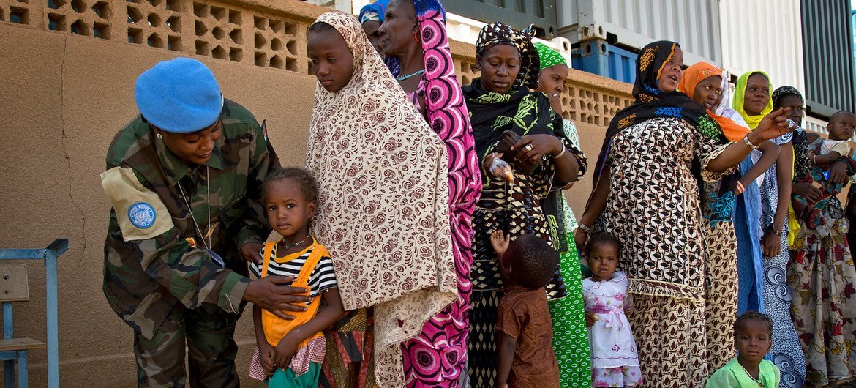 UN medics springiness  escaped  aesculapian  consultations to families successful  Niger.