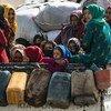 ООН оказывает ежемесячно помощь миллионам  жителей Сирии.
