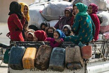 Miles de mujeres y niños están en recluidos en condiciones inhumanas en Iraq y Siria.