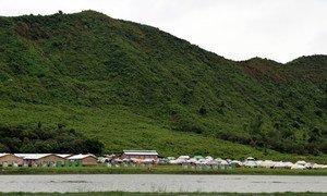 A settlement in Rakhine province, northern Myanmar. (file photo)