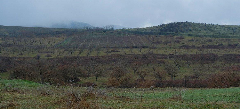 La zona de Nagorno-Karabaj dondese han reavivado las hostilidades