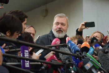 Dmitry Muratov, periodista ruso y ganador del Premio Nobel de la Paz 2021