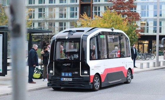 Немецкий Гамбург стал одним из первых городов Европы, сменивших весь парк рейсовых автобусов на электрические модели.