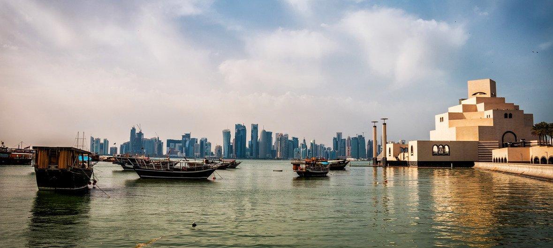 卡塔尔首都多哈。