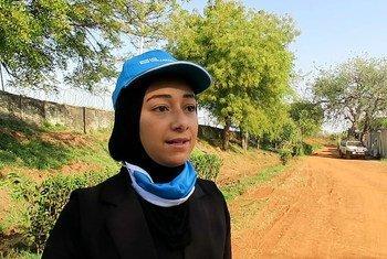 مي أحمد عبد الوهاب مهندسة مصرية، متطوعة دولية في مجال إدارة المشروعات مع بعثة الأمم المتحدة في جنوب السودان. يساهم برنامج متطوعي الأمم المتحدة في السلام والتنمية من خلال العمل التطوعي في جميع أنحاء العالم.