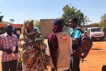 El Fondo de Población apoya a las mujeres embarazadas en la región sudanesa de Darfur occiental.