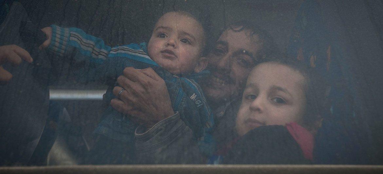 Los refugiados sirios en Jordania reasentándose en Canadá.