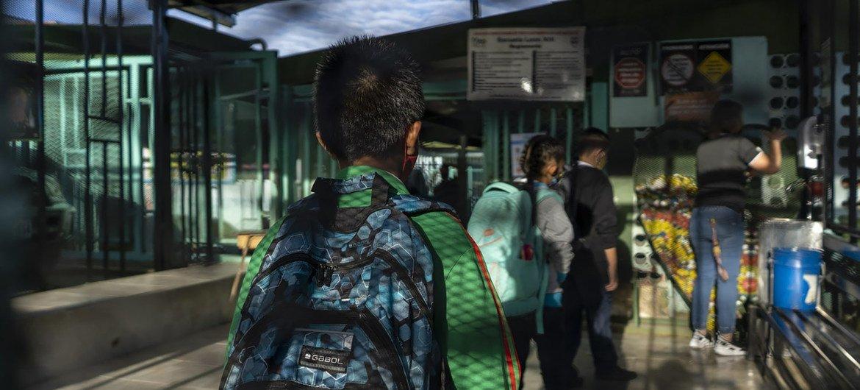 La ONU respalda  el regreso a la escuela en Costa Rica con asistencia técnica, recursos financieros y material educativo y de protección.