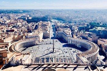 Vue de la cité du Vatican.