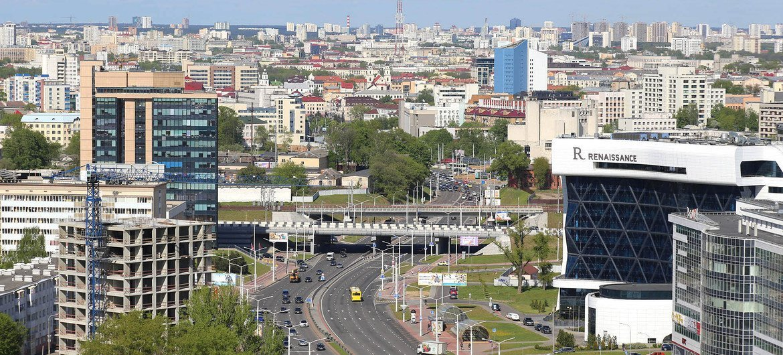 Минск, столица Беларуси