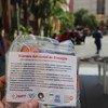 Máscaras feitas por refugiados foram distribuídas em abrigos no Brasil para ajudar a combater a pandemia
