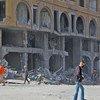 L'intensification des hostilités dans la bande de Gaza a fait de nouvelles victimes et des déplacements à grande échelle (12 mai 2021)