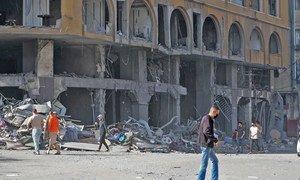 Обострение палестино-израильского конфликта вынудило 38 тыс. палестинцев покинуть свои дома.