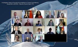 Члены Совбеза заслушали отчет руководителя Следственной группы по ИГИЛ, Специального советника Карима Асада Ахмада Хана