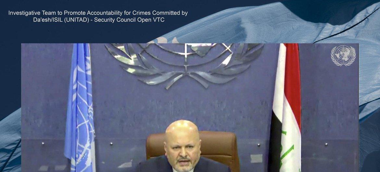 Руководитель Следственной группы, Специальный советник Карим Асад Ахмад Хан в Совбезе ООН