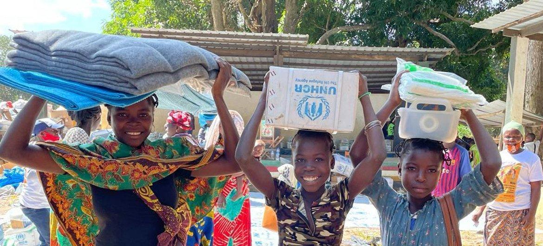 A situação humanitária em Cabo Delgado é agravada pela destruição causada após a passagem do ciclone Kenneth, em 2019