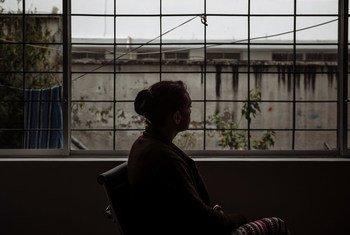 Gabriela a quitté le Venezuela pour trouver de meilleures opportunités de travail. Au cours de son voyage, elle a souvent été agressée et insultée.