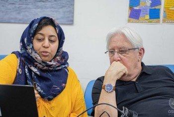 Martin Griffiths, Envoyé spécial des Nations Unies pour le Yémen