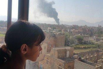 الغارات العشوائية تقتل مدنيين في اليمن للمرة الثانية هذا الأسبوع.