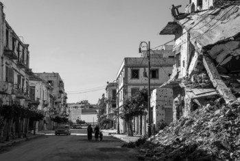 ليبيا تكافح من أجل التعافي من النزاع وانعدام الأمن.