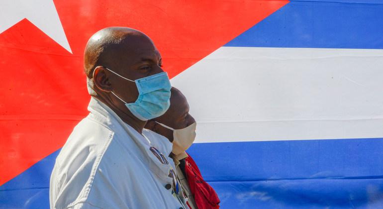 新冠疫情之下的古巴。