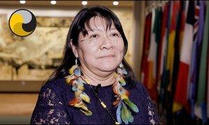 Joenia is una mujer indígena Wapichana, del estado brasileño de Roraima.