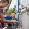 15 تشرين الأول/ أكتوبر ، 2019 هو اليوم العالمي لغسل اليدين.