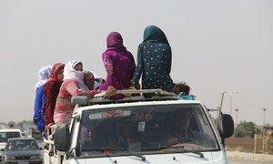 """Nações Unidas estão """"extremamente alarmadas"""" com as consequências humanitárias, as mortes e os mais de 160 mil deslocados no país."""