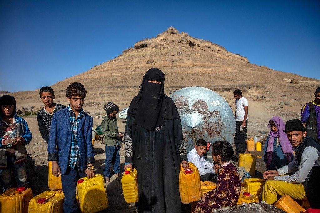 Wells are going dry and the rising cost of basic items leaves the option of buying critical items, like food and clean water, out of reach for millions in Yemen.