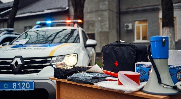 ЮНОПС и ЕС помогают Украине провести реформу правоохранительной системы.