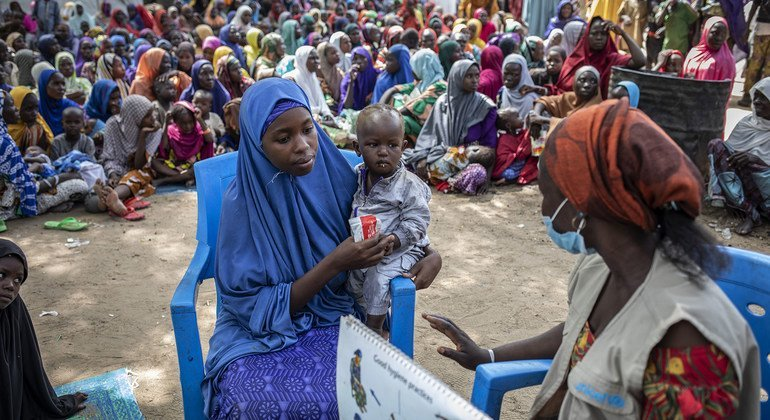 Displaced in northeast Nigeria 'knocking on door of starvation': WFP