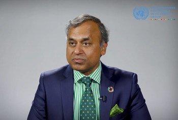 联合国新任驻华协调员常启德。