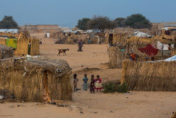 Des enfants dans un campement informel pour personnes déplacées par les violences de Boko Haram dans la région de Diffa, au sud-est du Niger (archive)