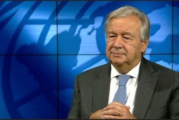 Guterres realça que é preciso também fazer as pazes com o planeta.