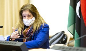 Stephanie Turco Williams, Acting Special Representative of the Secretary-General and Head of the United Nations Support Mission in Libya.